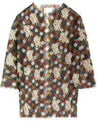 Antonio Marras - Embroidered Oversized Jacket - Lyst