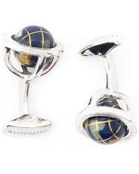 Tateossian - 'globe Cage' Cufflinks - Lyst