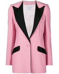 Hebe Studio - Contrast Fitted Blazer - Lyst