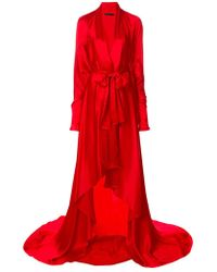 Francesco Paolo Salerno - Wrap Style Gown - Lyst