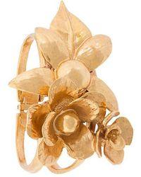Oscar de la Renta - Bold Flower Bracelet - Lyst