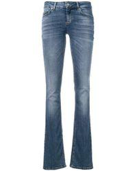 Liu Jo - Faded Straight Leg Jeans - Lyst