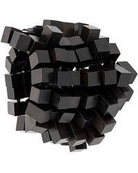 Monies - Elasticated Cube Bracelet - Lyst