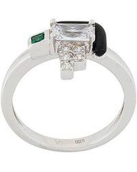 V Jewellery - Elodie Ring - Lyst