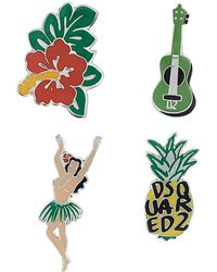 DSquared² - Hawaii Themed Pins - Lyst