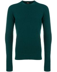 Drumohr - Long-sleeve Fitted Jumper - Lyst