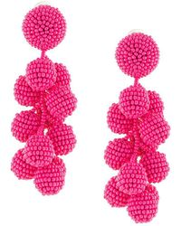 Sachin & Babi - Seedbead Bubble Earrings - Lyst