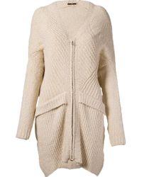 UMA | Raquel Davidowicz - | 'bella' Knit Coat - Lyst