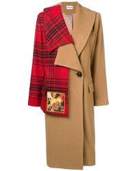 Au Jour Le Jour - Wool Hybrid Coat - Lyst