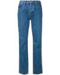 Calvin Klein Jeans | High Rise Tapered Jeans | Lyst