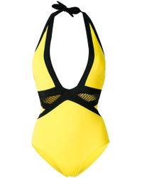 Moeva - Plunge Swimsuit - Lyst