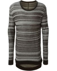 Odeur - Striped Crew Neck Sweater - Lyst