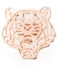 KENZO - Small 'tiger' Earrings - Lyst