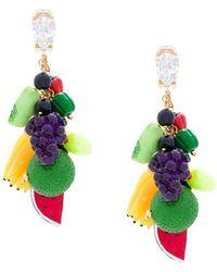 Venessa Arizaga - Fruit Clip-on Earrings - Lyst