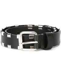 Diesel Black Gold - Studded Belt - Lyst