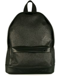 Palm Angels - Leather Trim Bakpack - Lyst