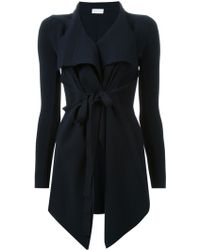Scanlan Theodore - Belted Draped Front Jacket - Lyst