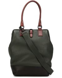 Marc Jacobs Contrasted Handle Tote