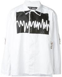 Liam Hodges - Sound Wave Print Shirt - Lyst