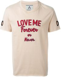 Andrea Pompilio - 'huy' T-shirt - Lyst