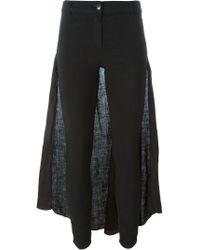 Andrea Ya'aqov - Skirt Trousers - Lyst