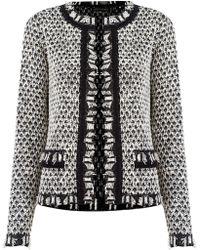 Cecilia Prado - Pattern Knit Coat - Lyst