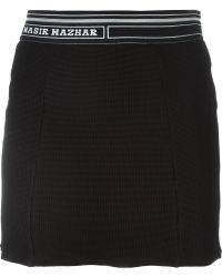 Nasir Mazhar - Waffle Mini Skirt - Lyst