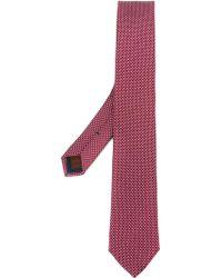 Fashion Clinic - Crossed Pattern Tie - Lyst