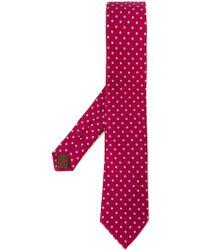 Fashion Clinic - Flower Print Tie - Lyst