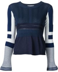 Mame - Ribbed Stripe Jumper - Lyst