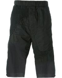 Alexandre Plokhov - Patchwork Drop-crotch Shorts - Lyst