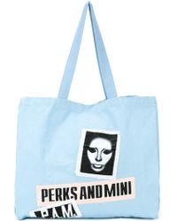 P.a.m. Perks And Mini - Large 'banner' Tote - Lyst
