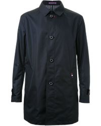 Guild Prime - Relaxed Fit Button Up Classic Trench Coat - Lyst