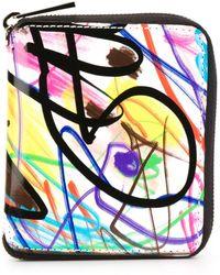Jeremy Scott - Graffiti Print Wallet - Lyst