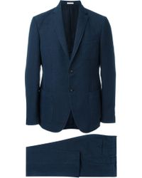 Massimo Alba - Two-button Patch Pocket Suit - Lyst