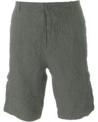 Transit - Pocket Detail Cargo Shorts - Lyst