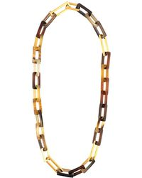 Maiyet - 'horn & Gold Link' Medium Necklace - Lyst