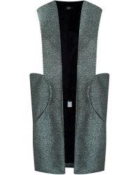 Fernanda Yamamoto - Long Pocket Vest - Lyst