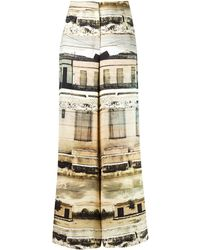 Fernanda Yamamoto - Wide Leg Trousers - Lyst