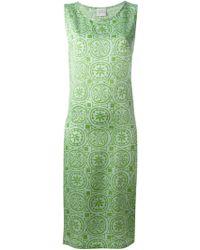 Sybilla - Pattern Dress Silk Shift Dress - Lyst