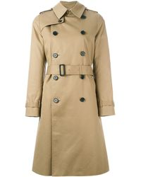 Hyke - Belted Trench Coat - Lyst