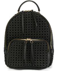 Benedetta Bruzziches - Interlaced Textured Backpack - Lyst