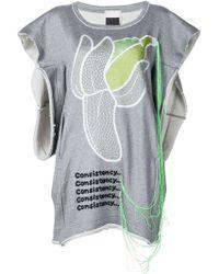 Bernhard Willhelm - Banana Embroidery Sweatshirt - Lyst