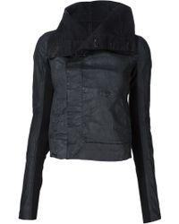 DRKSHDW by Rick Owens - Contrast Sleeves Denim Jacket - Lyst