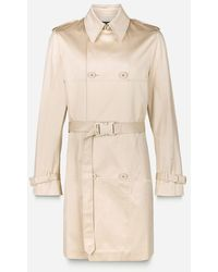 Christopher Kane - Safety Buckle Trench Coat - Lyst