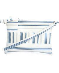 Luisa Cevese Riedizioni - Small Striped Crossbody Bag - Lyst