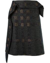 Fernanda Yamamoto - High Waisted A-line Skirt - Lyst
