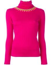 Manish Arora - Turtleneck Embellished Pullover - Lyst