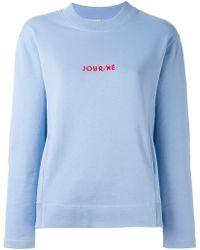 JOUR/NÉ - Jour/né Logo Sweatshirt - Lyst