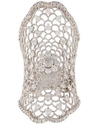 Carole Shashona - 'lotus Blessing' Diamond Ring - Lyst